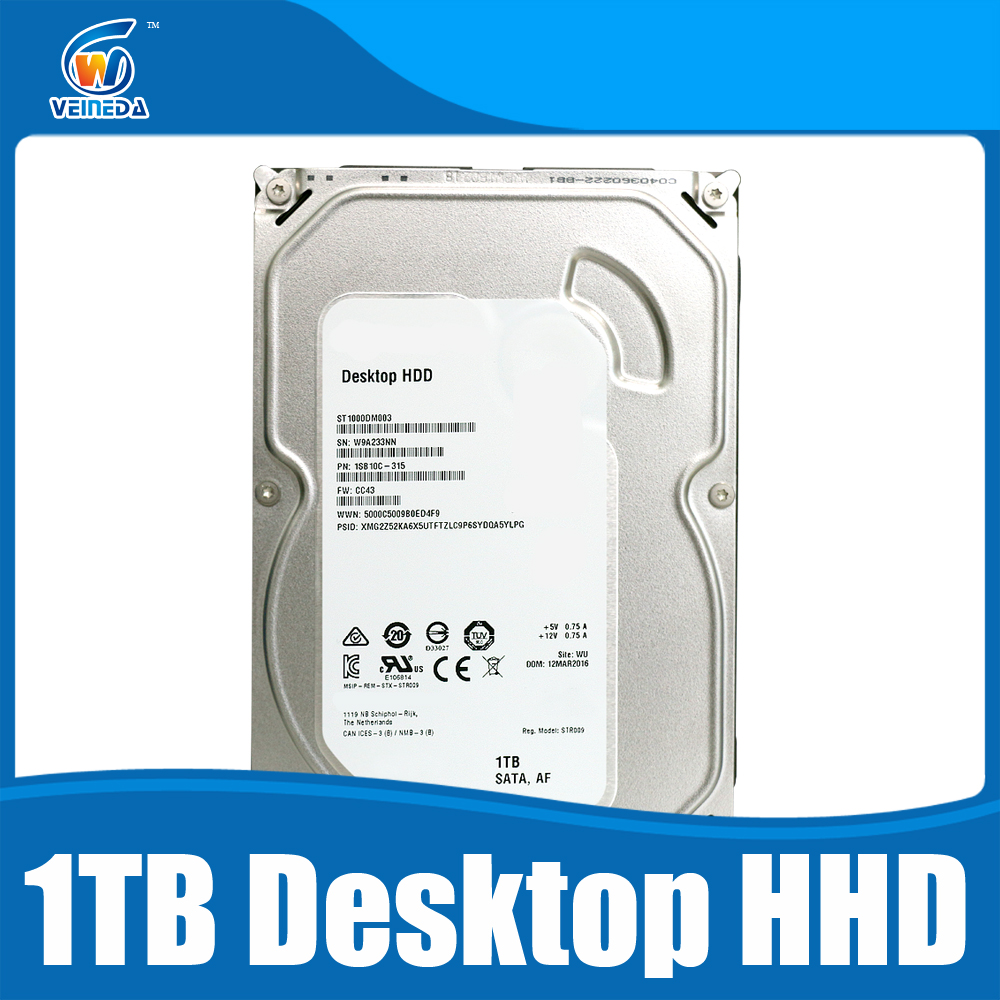 HDD Hard Disk Drive 3.51TB 64mb 7200rpm sata3 1000DM003 For CCTV Desktop 2 Years Warranty