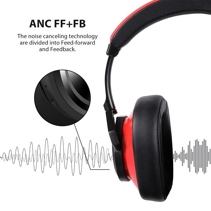 Image 3 - Bluedio T6 активный Шум шумоподавления наушники Беспроводной Bluetooth гарнитура с микрофоном для телефонов и музыкаНаушники и гарнитуры   -