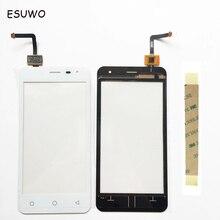 Esuwo Сенсорный экран для Micromax Canvas темп Q415 Сенсор сенсорный экран планшета спереди Стекло Панель Замена