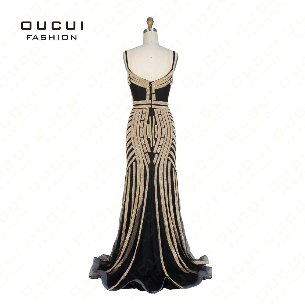 реальные фотографии тюль кристалл королевский голубой цвет партии случай формальное длинное вечернее платье ol102829