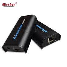HDMI удлинитель по IP/TCP UTP/STP CAT5e/6 Rj45 LAN Поддержка сети 1080p 120 м расширение как HDMI сплиттер передатчик приемник