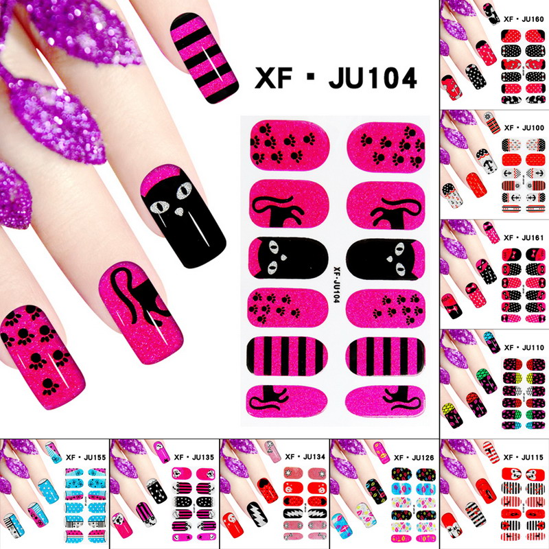 Mixed Pattern DIY Nail Art Tips Gel Nail Manicure Polishing Fingernail Design Stickers Sequins Pigment Decoration Sticker 10 color 20m rolls nail art uv gel tips striping tape line sticker diy decoration 03ik