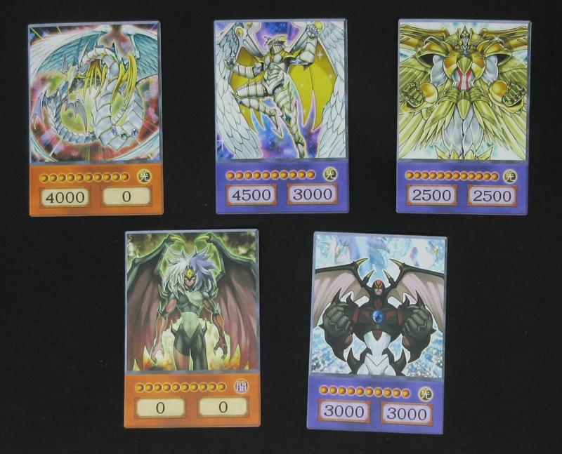 Amazon.com: Yu-Gi-Oh! 3 Osiris, Obelisk , Ra God Cards Set