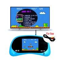RS-8A Video Oyun Konsolu 8 Bit 2.5 inç Taşınabilir Oyun Oyuncu Dahili 260 Farklı Oyunlar çocuk Oyunu Renk Tetris