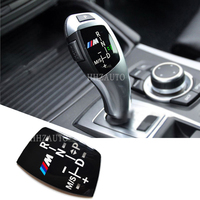 For BMW Sticker High Quality ABS Gear Shift Decorative Cover Sticker For Bmw X5 X6 X4