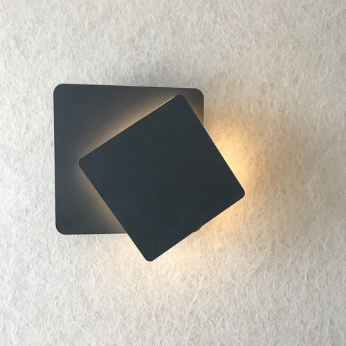 Indoor 5w Acrylic Led Wall Mount Light Fixture Rotatable