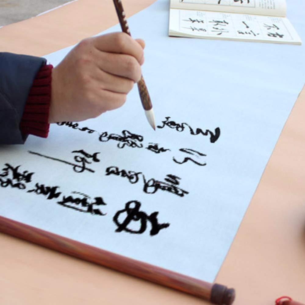 Reusable Magic Water Writing Sky Lantern Cloth Chniese Calligraphy Sumi Paper Pratice Painting Scroll Straw Paper рисовая бумага