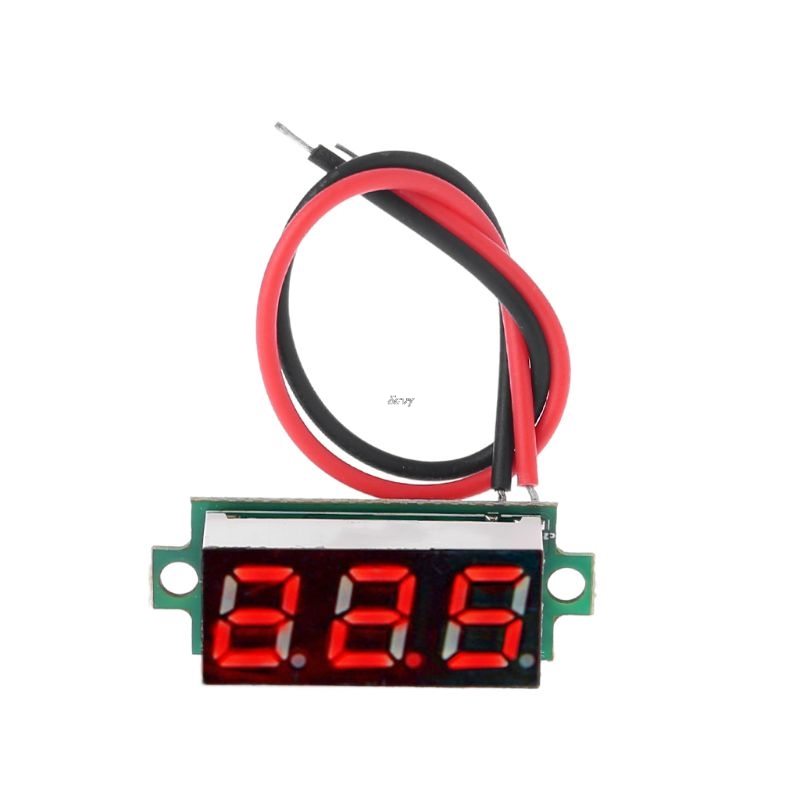 """0.28"""" LED Display Digital Thermometer Module for DS18B20 Temperature Sensor RED"""
