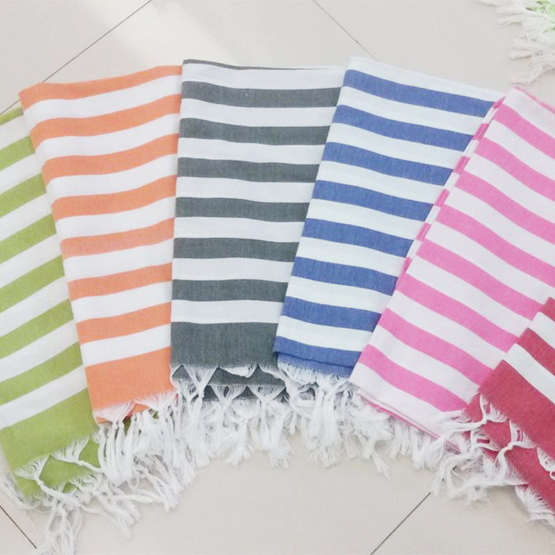 Enipate Turkish Beach Towels For Adults 100% Cotton