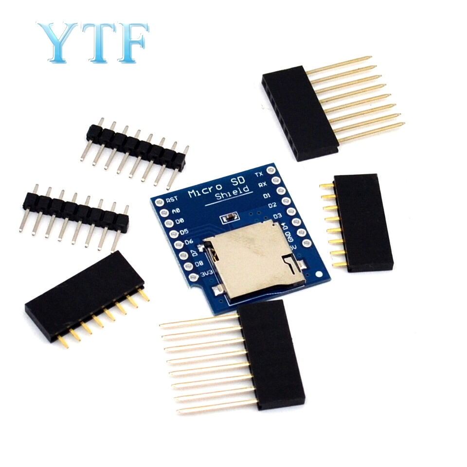 Micro SD Shield For WeMos D1 Mini TF WiFi ESP8266 Compatible SD