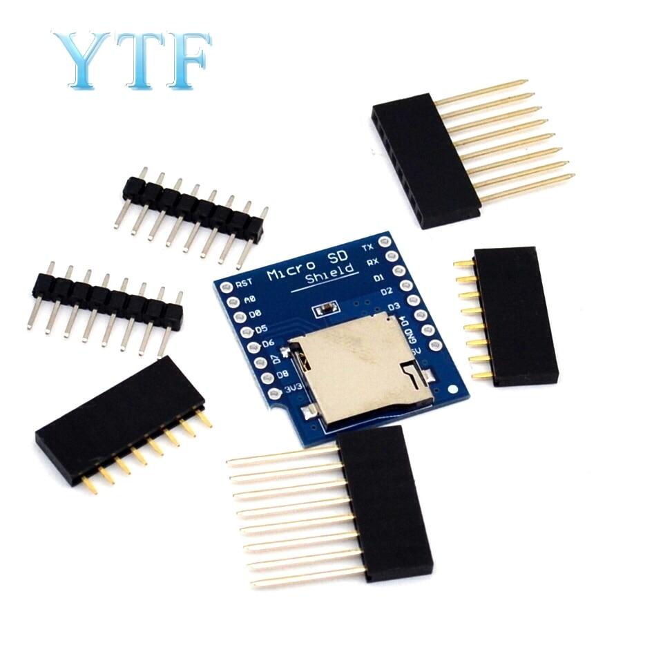Micro SD Shield For WeMos D1 Mini TF WiFi ESP8266 Compatible SD