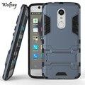 Чехол Для ZTE Axon 7 Mini Case 5.2 дюймов Мягкий ТПУ & Hard ПК броня Телефон Владельца Стенд Мешок Коке Fundas Case Для ZTE Axon 7 Мини # <