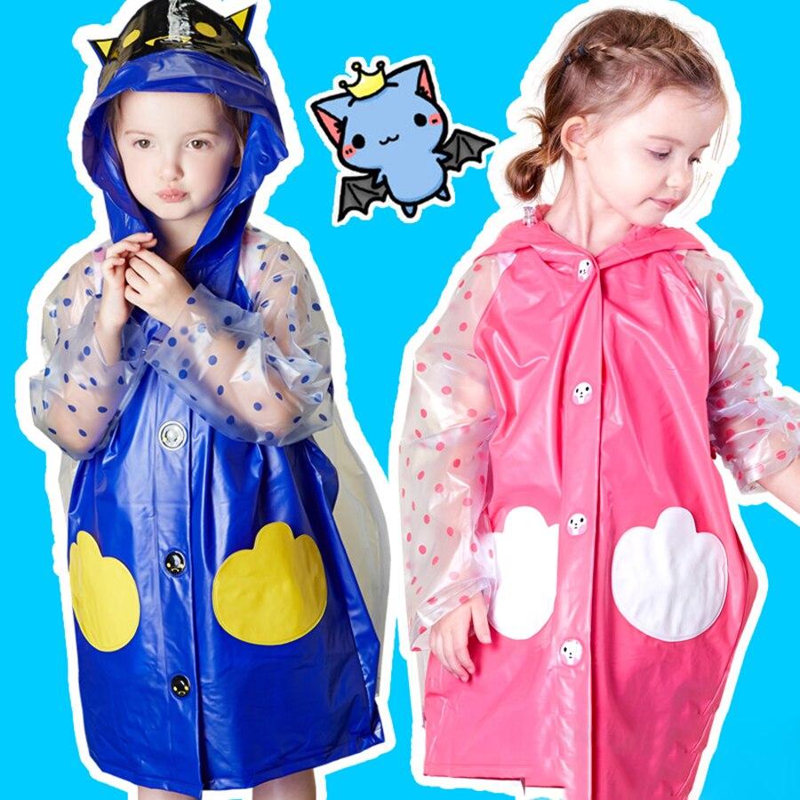 Outdoor Cute Soft Safe Light Plastic Rain Poncho Durable Cover Rain Raincoat Dzieci Waterproof Raincoats Rain Gear 50C0063