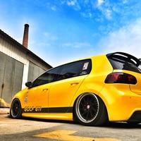 World Datong Car Exterior sticker For VOLKSWAGEN GOLF GTI 5 6 7 Body Sport Decals Auto Stickers