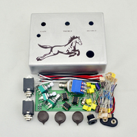 DIY Klon Centaur Overdrive Metal Footswitch Pedal Effect Pedals Pre Drilled Effect Pedal True Bypass Free