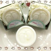 20 штук ручной работы ног мыло для свадьбы для вечеринки, дня рождения Baby Shower Сувениры подарок пользу