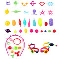 30Pcs Colorful DIY Changed Beads Children Educational Intelligence Toy