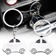 Car Keychain Key Ring Metal Male Classic Model Bag Chain Pendant Wave Ball Eight-character