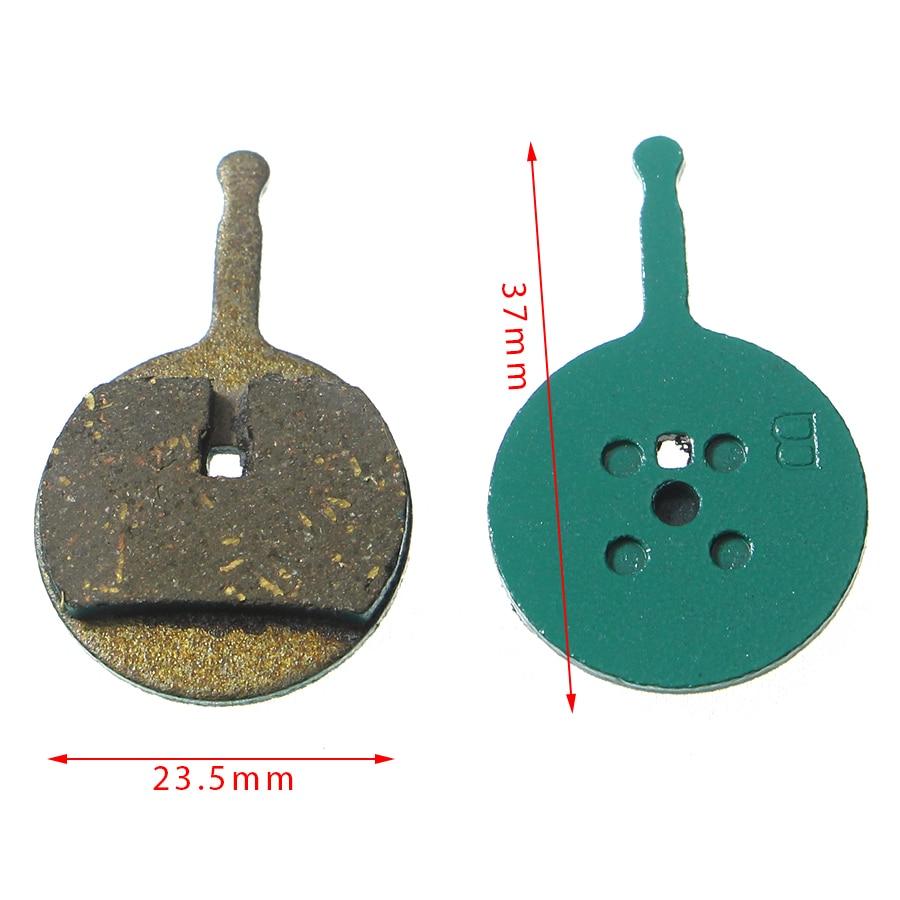Купить с кэшбэком 2 Pairs/Lot Bicycle Brake Pads for SRAM Avid BB5 (Ball Bearing 5) Line Pulling Disc Brake MTB Mountain Bike Brake Parts