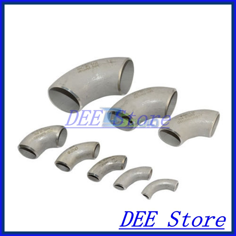 New 45MM Short Radius Butt-Weld Elbow 90 Degree SS304 SUS304 Pipe Fitting 3 4 19mm od sanitary weld elbow pipe fitting 90 degree pipe fittings stainless steel ss316