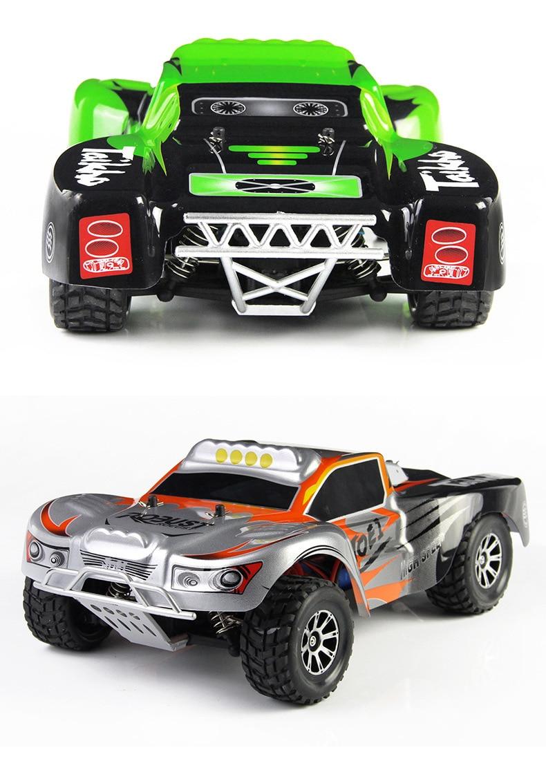 A969รถRC 4WD 1:18ขนาด2.4กรัมความเร็วสูงวิทยุควบคุมรถระยะไกลควบคุมรถแข่งรถข้ามประเทศจัดส่งฟรี-ใน รถ RC จาก ของเล่นและงานอดิเรก บน   1