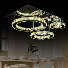 LED K9 Crystal  Pendant Lights Modern/Contemporary Bedroom/Dining Room Free shipping