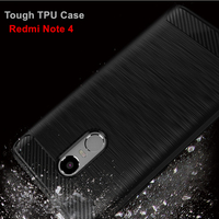 GKK Tough Soft TPU Anti Knock Cell Phone Case For Xiaomi Redmi Note 4 Cases Cover
