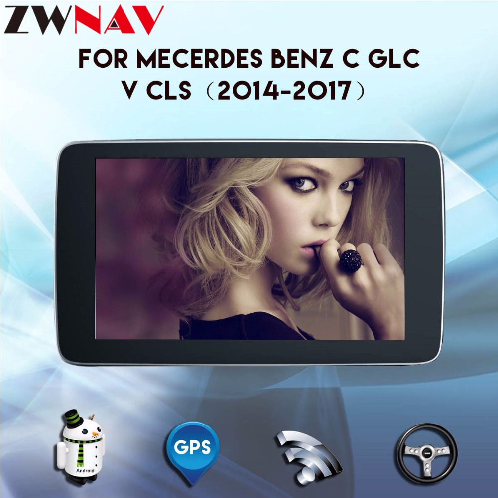 Android car multimedia player For Mercedes Benz GLC/ C / V Class 2014~2017 Radio Stereo CD DVD Player GPS Navi Navigation System