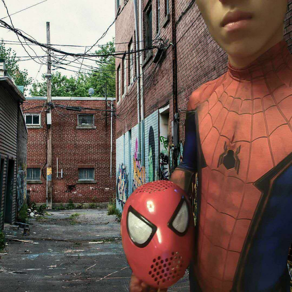 The Amazing Spider-Man 2 Spider Helmet spiderman homecoming Spider-Man Faceshell With Lenses Spiderman Mask Faceshell