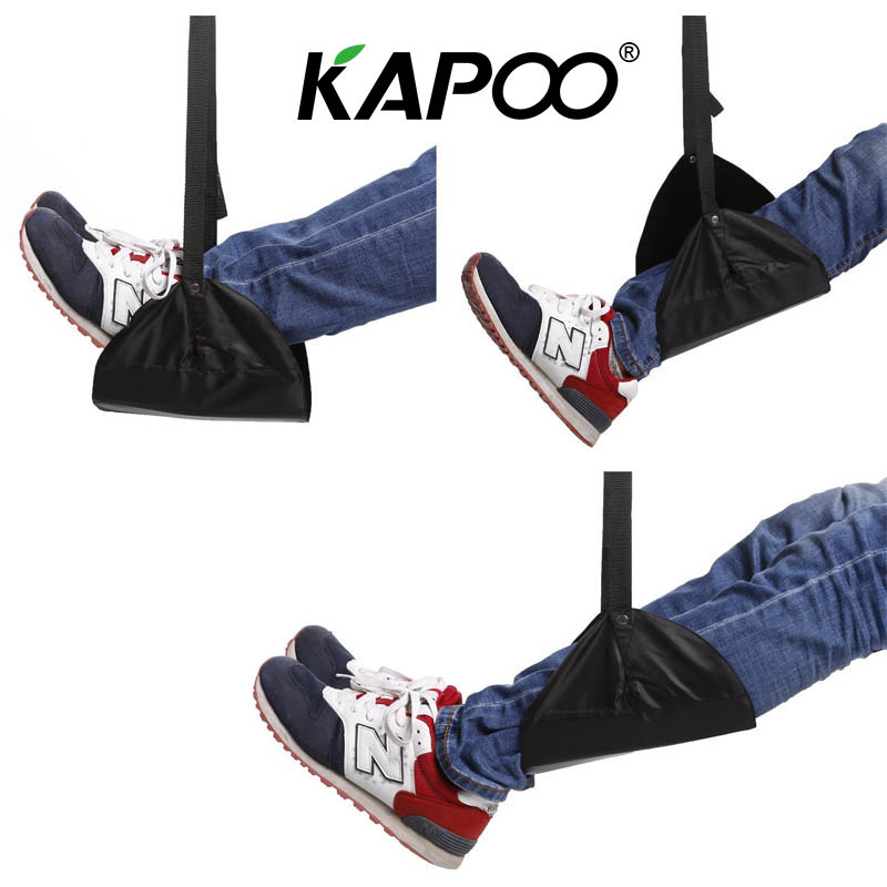 Portable Aircraft Travel Feet Hammock Office Feet Hammock Train High-speed Rail Aircraft Feet Easy Relief Artifact four colors