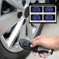 5-in-1 Digital Tyre Pressure Gauge With Multi Emergency Tool-Safety Hammer, Seatbelt Cutter and Flashlight for Automotive