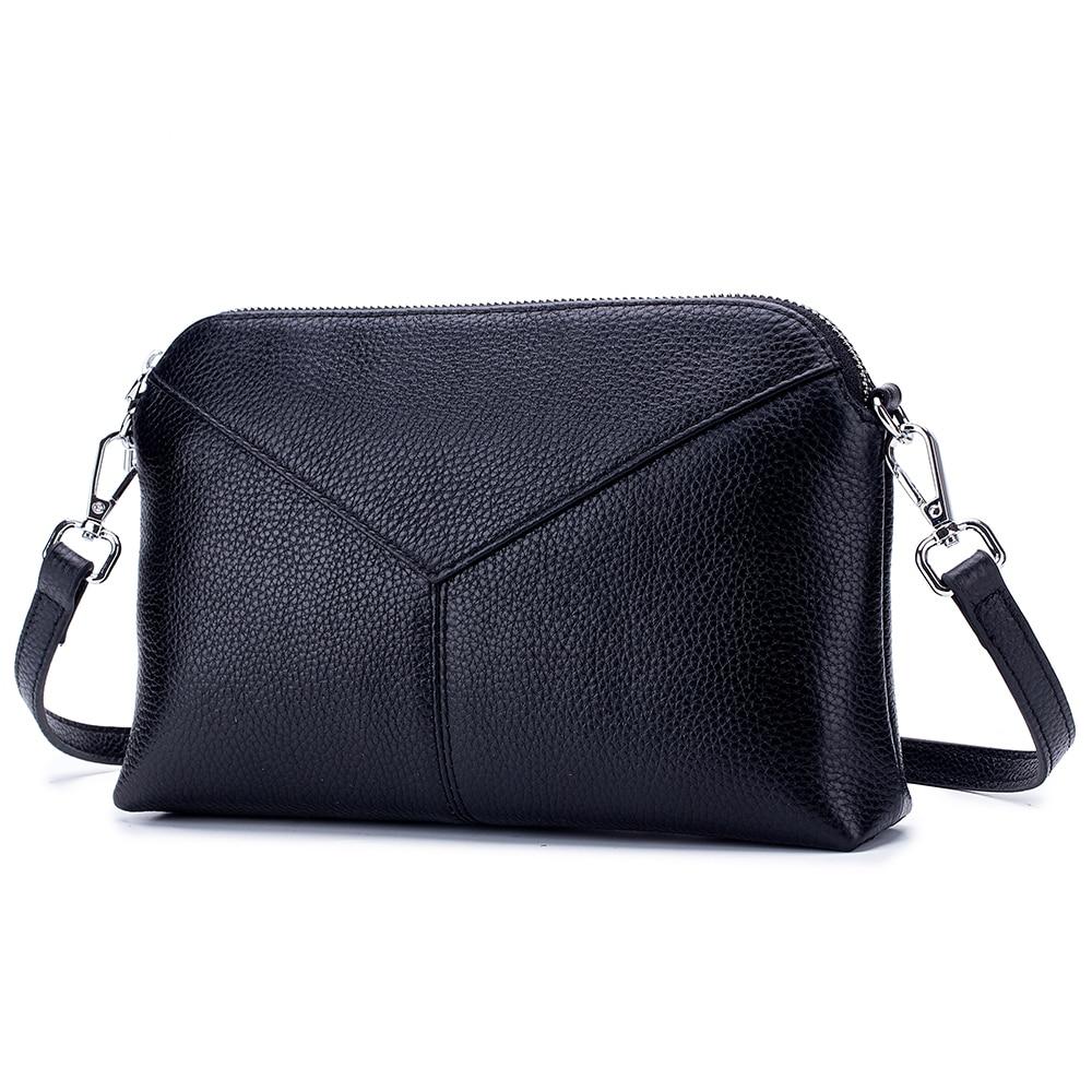 M Yancy Luxury Genuine Leather Handbags Cowhide Crossbody Bags For Women Shoulder Bag Ladies Fashion Designer