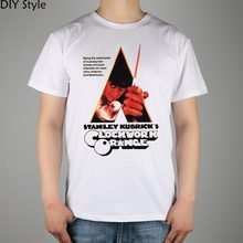 CLOCKWORK ORANGE T-shirt Top Lycra Cotton Men T shirt New Design High Quality Digital Inkjet Printing