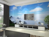 Custom 3d Summit That The Fog Winds Around Is Similar To The Fairyland Design 3d Wallpaper