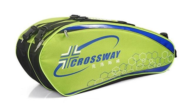 2017 Multi Function Tennis Bag Large Capacity Racket Badminton Squash Hold 6 Rackets