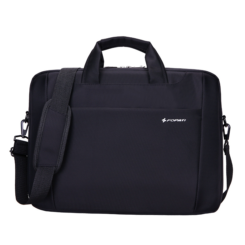 New Waterproof 15 inch Laptop bag for hp lenovo sony dell laptop bag computer bag for men women briefcase black nylon bag