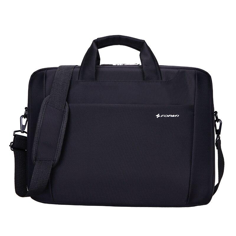Nouvelle pochette d'ordinateur étanche de 15 pouces pour hp lenovo sony dell pochette d'ordinateur sac d'ordinateur pour hommes serviette pour femmes sac en nylon noir