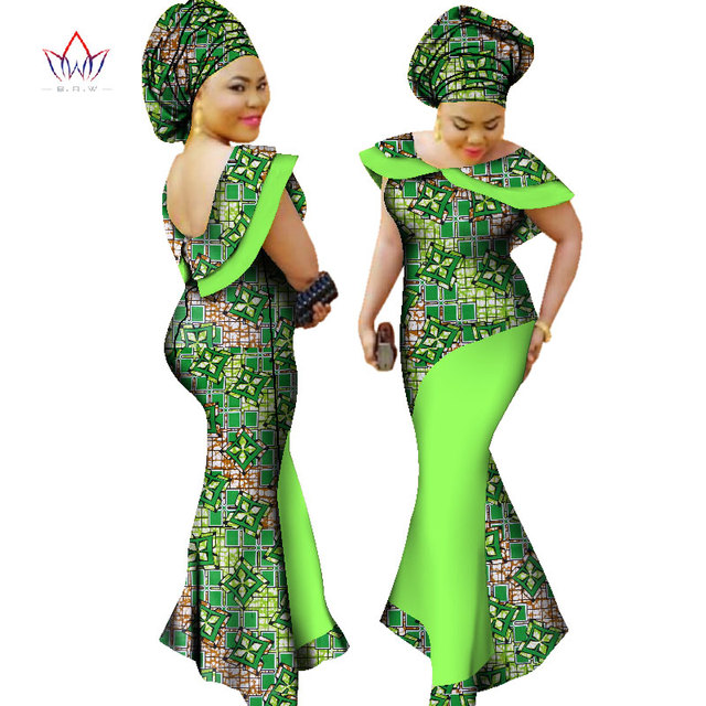 Fashion Dresses 2019: Plus Size Winter Dresses Women 2019 Traditional African