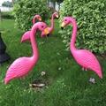 Реалистичный большой розовый Фламинго садовое украшение газон Искусство украшение домашнее ремесло 3 варианта выбор
