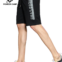 Summer Shorts Printed Quality-Bermuda Workerout Fashion Casual Pioneer Black Grey Camp