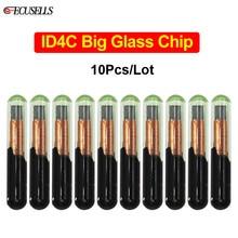10 шт./лот ID4C Большой Стеклянный чип (после продажи) ID 4C Автомобильный ключ чип для Ford для Toyota для Mazda