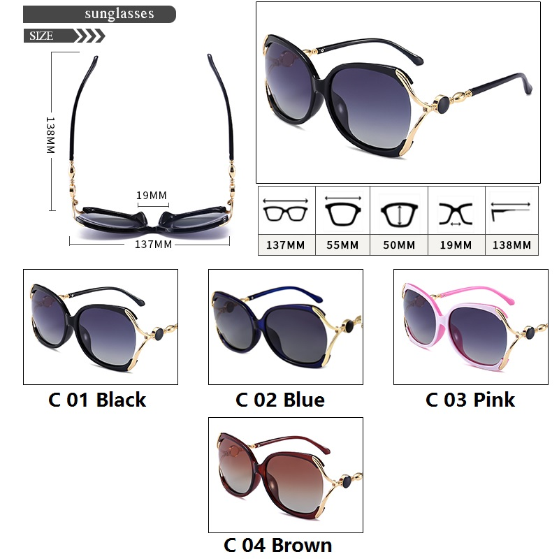 04ea2d43cd6a SPACE Women Brand Designer Polarized Sunglasses Fashion Bowknot Women  Sunglasses Hollow out Lens High quality-in Sunglasses from Apparel  Accessories on ...