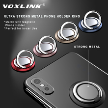 VOXLINK 360 Degree finger ring Smart phone mount support for iPhone x  9 8 Xiaomi Samsung Huawei all models of buckle