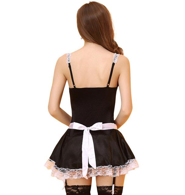 Women Cosplay Lolita Fancy Dress Adult Sissy Maid