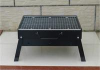 Small Portable Folding Barbecue Charcoal Grill Easy Assemble and Remove Barbecue Cooking Set BBQ Grill 35*27cm