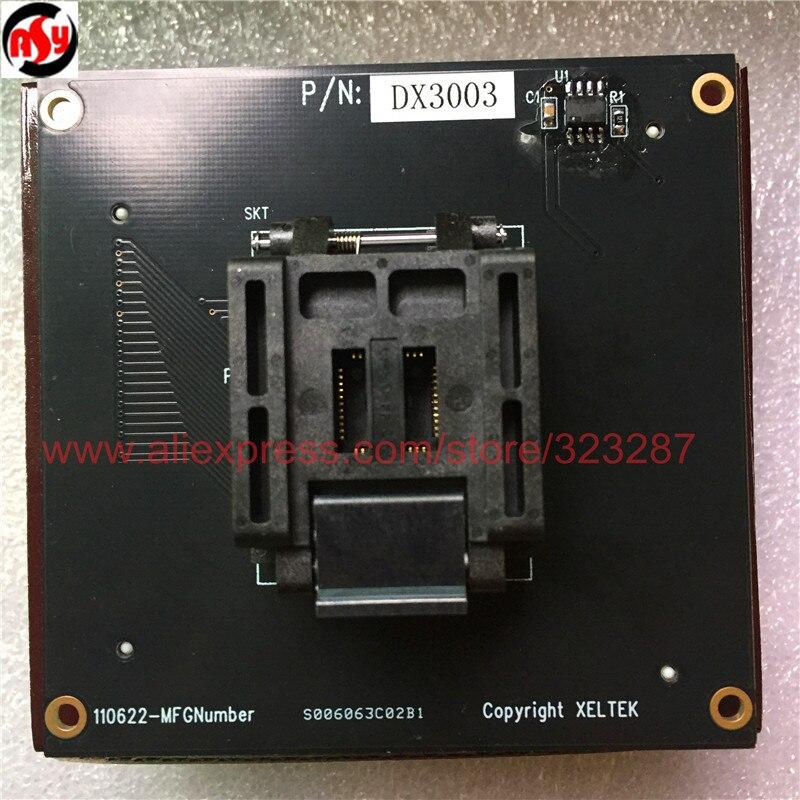 Tout nouvel adaptateur ORIGINAL de prise de Test DX3003 IC fonctionnant pour le programmeur de la série SUPERPRO