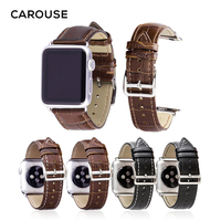 Кутить, из телячьей кожи, кожаный ремешок для наручных часов Apple Watch серии 3/2/1 42 мм, 38 мм, спортивный ремешок для iwatch серии 4 40 мм 44 ремень