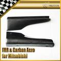 Car-styling For Mitsubishi Evolution EVO 7 8 9 Carbon Fiber Side Skirt Addon Spat In Stock