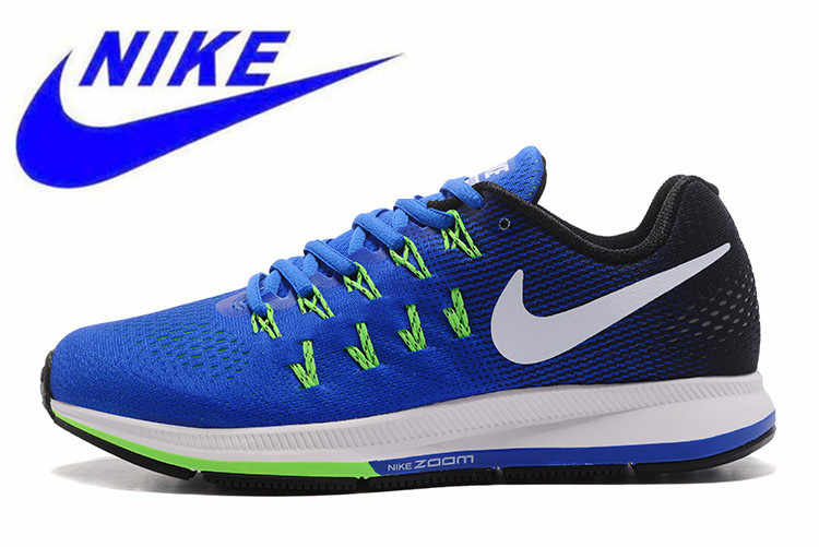 d443464776164 New Arrival Authentic Nike AIR ZOOM PEGASUS 33 Official Original Men s  Breathable Running Shoes Sneakers Trainers