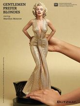 1/4 Scale Blondes Marilyn Monroe Statue PVC Sexy Figure Collectible Model Toy 42cm